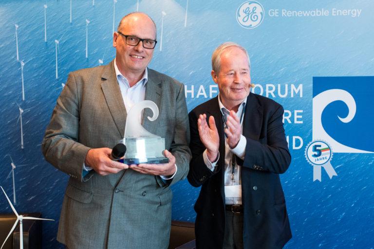 "Verleihung ""Bestes Offshore Windkraftwerk 2015"""